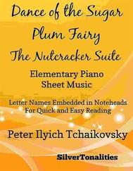 Dance of the Sugar Plum Fairy Nutcracker Suite Elementary Piano Sheet Music - copertina