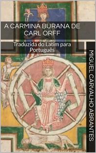 A Carmina Burana de Carl Orff - Librerie.coop