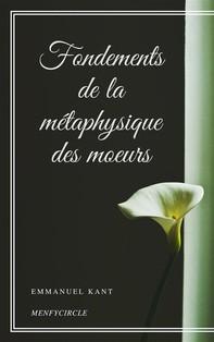 Fondements de la métaphysique des moeurs - Librerie.coop