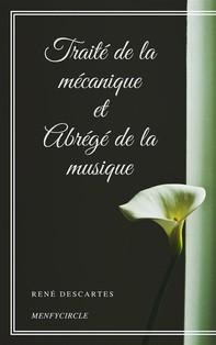Traité de la mécanique et Abrégé de la musique - Librerie.coop