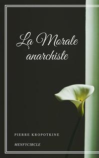 La Morale anarchiste - Librerie.coop