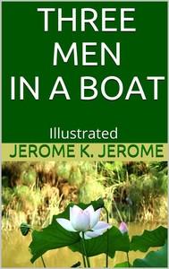 Three Men in a Boat - Illustrated - copertina