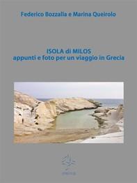 Isola di Milos appunti e foto per un viaggio in Grecia - Librerie.coop