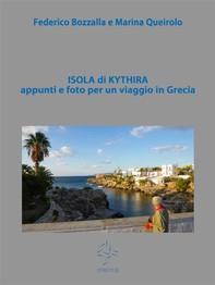 Isola di Kythira appunti e foto per un viaggio in Grecia - Librerie.coop