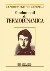 Fondamenti di Termodinamica - Librerie.coop