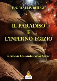 Il Paradiso e l'Inferno Egizio - Librerie.coop