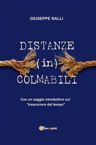 Distanze (in)colmabili - Librerie.coop