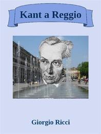 Kant a Reggio - Librerie.coop