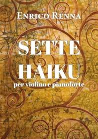 SETTE HAIKU  per violino e pianoforte - Librerie.coop