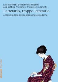 Letterario, troppo letterario - copertina