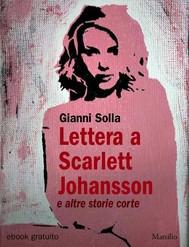 Lettera a Scarlett Johansson - copertina