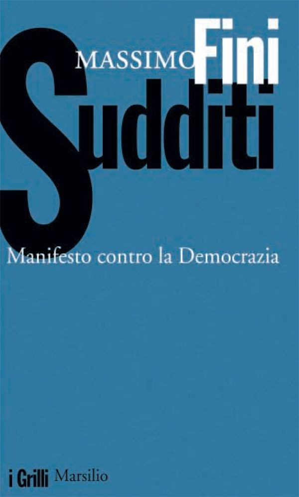 Book Cover Images Api : Sudditi massimo fini ebook bookrepublic