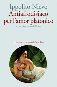 Antiafrodisiaco per l'amor platonico - copertina