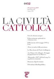 La Civiltà Cattolica n. 4052 - copertina