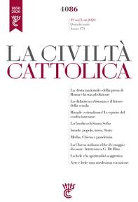La Civiltà Cattolica n. 4086 - Librerie.coop