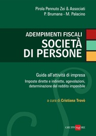 Adempimenti fiscali società di persone - copertina