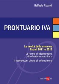Prontuario IVA - Librerie.coop