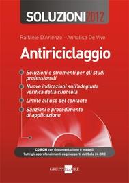 Antiriciclaggio - Soluzioni 2012 - copertina