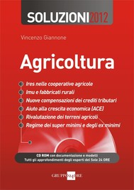 Agricoltura Soluzioni 2012 - copertina