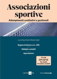 Associazioni sportive - copertina