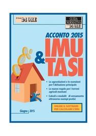 Acconto IMU e TASI 2015 - copertina