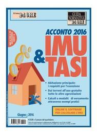 Acconto IMU e TASI 2016 - copertina
