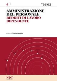 AMMINISTRAZIONE DEL PERSONALE 6 - Redditi di lavoro dipendente - copertina
