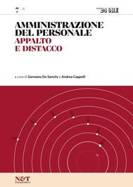 AMMINISTRAZIONE DEL PERSONALE 7 - Appalto e distacco - copertina