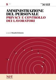AMMINISTRAZIONE DEL PERSONALE 8 - Privacy e controllo dei lavoratori - copertina