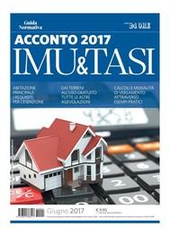Acconto IMU e TASI 2017 - copertina