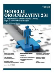 MODELLI ORGANIZZATIVI 231 - copertina