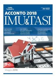Acconto IMU e TASI 2018 - copertina