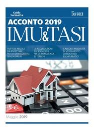 Acconto IMU e TASI 2019 - copertina