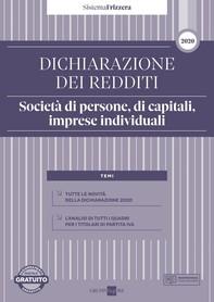 Dichiarazione dei redditi 2020 - Società di persone, di capitali, imprese individuali 2020 - Librerie.coop
