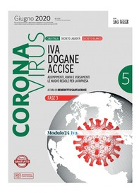 CORONAVIRUS. IVA, dogane, accise - Librerie.coop