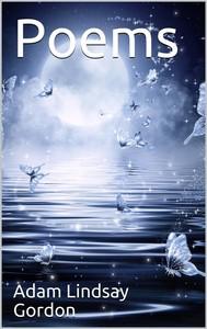 Poems by Adam Lindsay Gordon - copertina