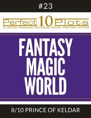 "Perfect 10 Fantasy Magic World Plots #23-8 ""PRINCE OF KELDAR"" - copertina"