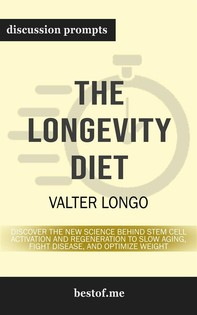 """Summary: """"The Longevity Diet: Discover the New Science Behind Stem Cell Activation and Regeneration to Slow Aging, Fight Disease - Librerie.coop"""