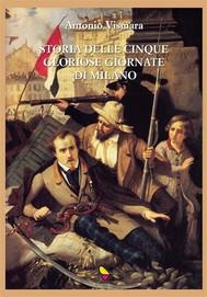 Storia delle cinque gloriose giornate di Milano - copertina