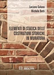 Elementi di Statica delle costruzioni storiche in muratura - copertina