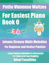 Petite Viennese Waltzes for Easiest Piano Booklet O - copertina