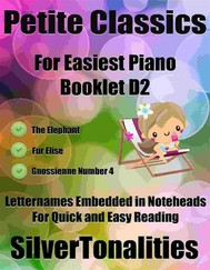 Petite Classics for Easiest Piano Booklet D2 - copertina