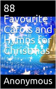 88 Favourite Carols and Hymns for Christmas - copertina