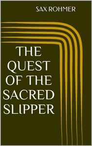 The Quest of the Sacred Slipper - copertina