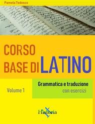 Corso base di latino - copertina