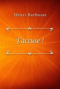 J'accuse ! - Librerie.coop