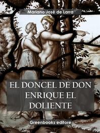 El doncel de Don Enrique el doliente  - Librerie.coop