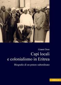 Capi locali e colonialismo in Eritrea - Librerie.coop