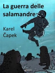 La guerra delle salamandre - copertina