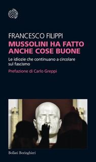Mussolini ha fatto anche cose buone - copertina